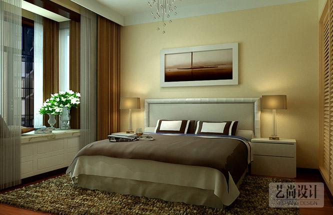 正商城107平米三室一厅卧室雷火竞猜app效果图