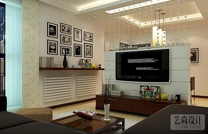 正商城107平米三室一厅装修效果图