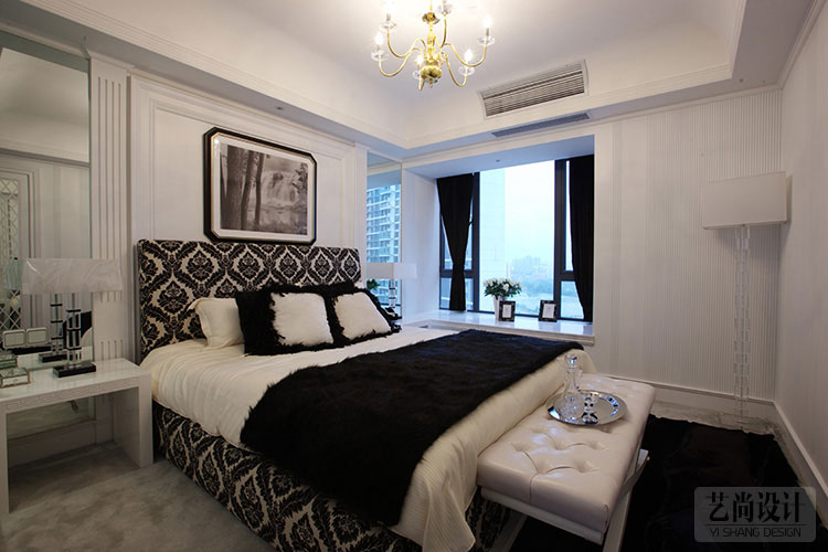 财信圣堤亚纳105平方三室两厅现代简约案例装修效果图