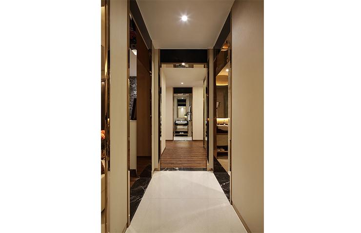 郑州康桥悦岛127平方三室两厅现代简约样板间装修2017