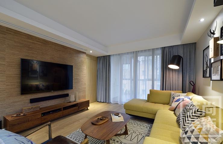 正商金域世家三室两厅b1户型装修案例
