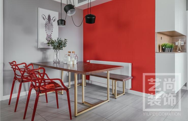 郑州绿都澜湾三室两厅97平方b1户型装修设计