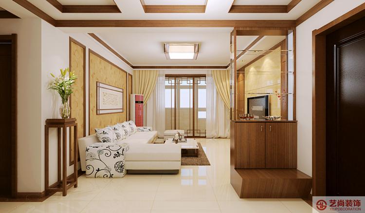 153医院家属院144平方客厅装修效果图