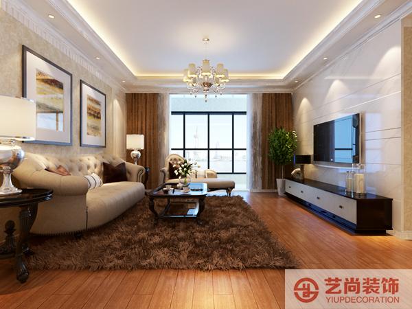 银基王朝136平方四室两厅一卫装修效果图