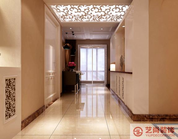 维也纳春天135平方三室两厅装修案例 维也纳春天现代简约案例装修效果