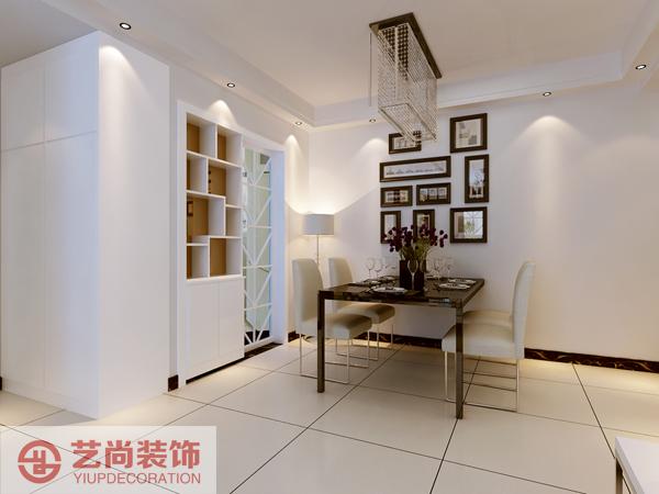 紫荆尚都两室两厅一卫样板间装修案例