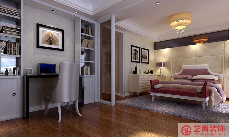 升龙国际四室两厅简欧风格装修效果图