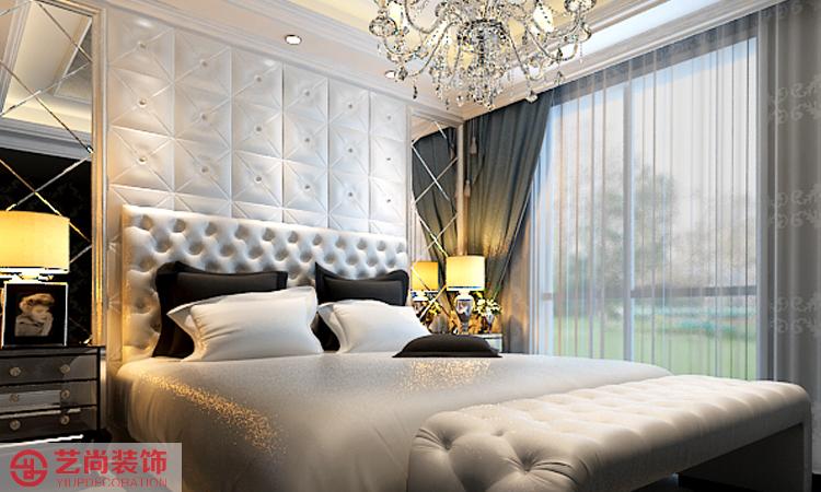 建业壹号城邦 180平方四室两厅简欧风格卧室装修效果图