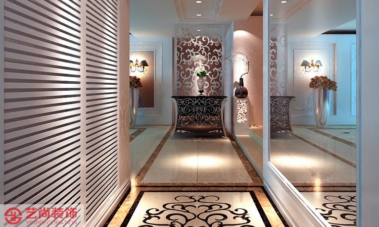 家天下四室两厅两卫样板间装修案例