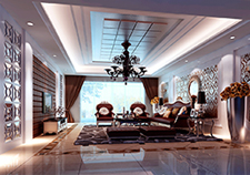 家天下四室两厅两卫装修案例效果图