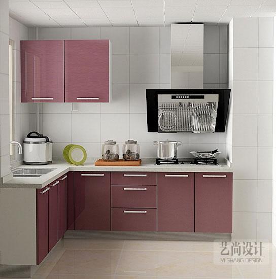 润城三室两厅两卫126平方装修方案,厨房装修效果图