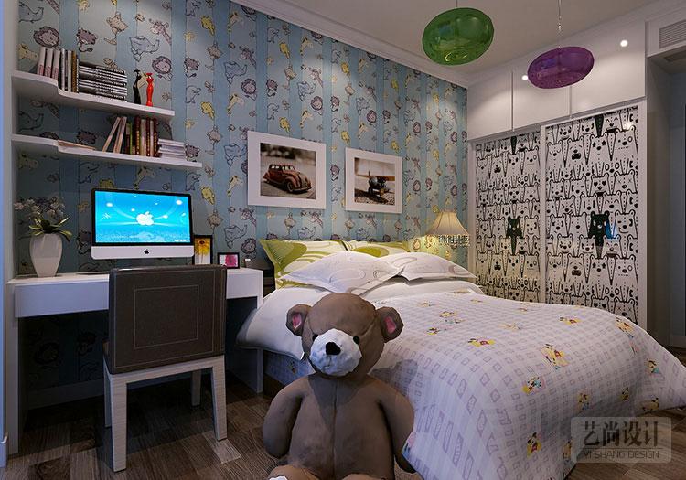 润城140平方三室两厅现代简约装修效果图