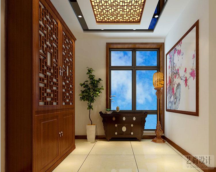 海上五月花220平方5室2厅装修案例-玄关装修效果图