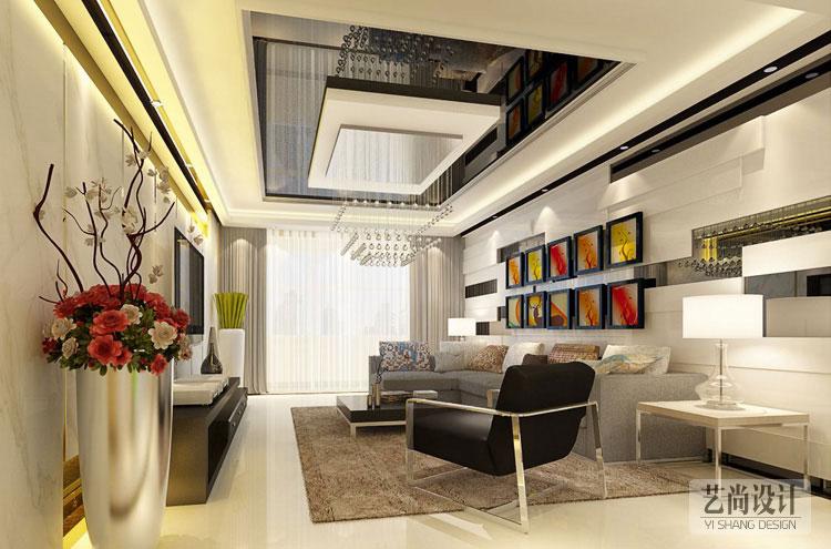 诚工嘉园小浪底180平方四室两厅两卫装修效果图