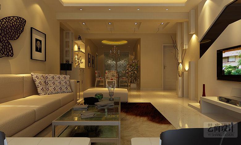 普罗旺世七期三室两厅130平方户型装修案例