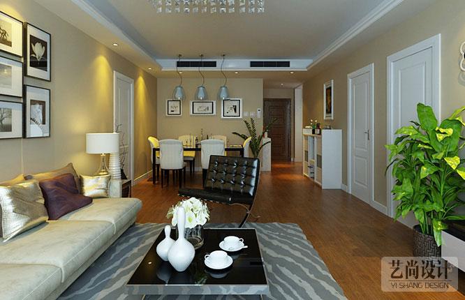 橄榄城伍号院三室两厅139平方装修效果图