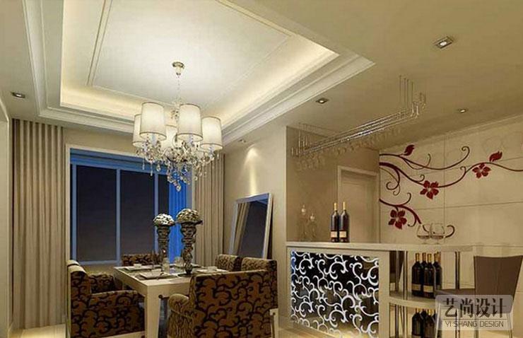盛润锦绣城-两室两厅-87平方装修效果图
