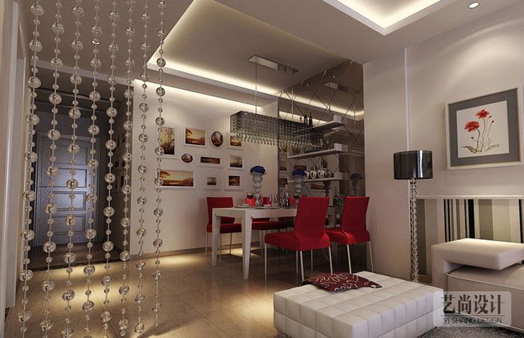 天骄华庭84平方两室两厅现代简约风格装修效果图