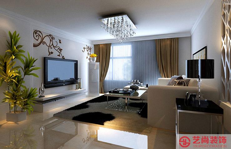正商恒钻三室两厅130平方装修效果图