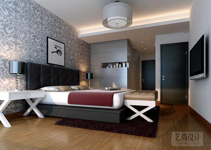 本案由艺尚装饰首席设计师袁梦设计的方圆创世80平方两室两厅现代简约装修案例效果图,选用时尚的现代风格,采用的是黑白灰的经典搭配色调!  方圆创世两室两厅80平方客厅装修效果图---客厅电视背石膏板络缝和仿古砖结合,利用不规则的层板打造整个空间的时尚艺术气息!  方圆创世两室两厅80平方餐厅装修效果图---酒柜设计水曲柳扫黑,有了足够的储物空间,有满足了装饰的美感,即时尚又实用!  方圆创世两室两厅80平方主卧装修效果图---整个空间吊顶我很少采用灯槽,而是用四周叠级设计代替,同样可以满意空间的时尚感,打理
