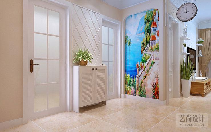 吐槽:东方鼎盛88平方两室两厅简欧风格装修案例效果图