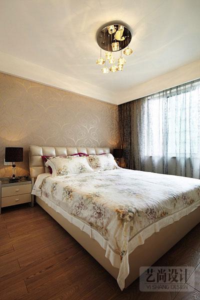 青藤苑100平方三室两厅装修案例,客卧装修效果图