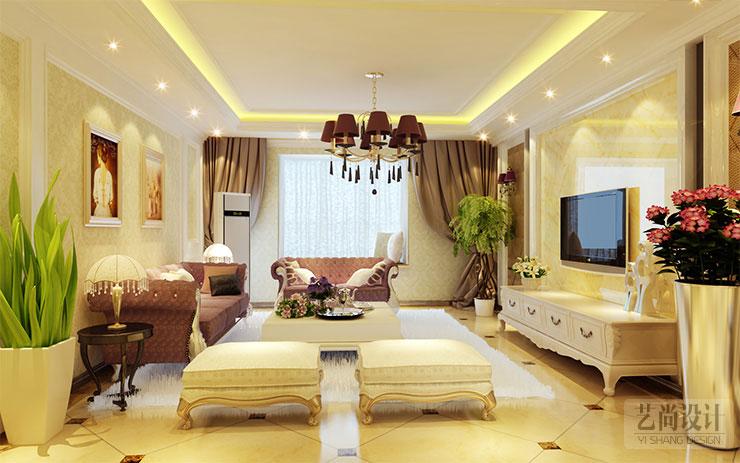 装饰与您一起欣赏 天伦庄园120平方两室两厅现代简约样板...