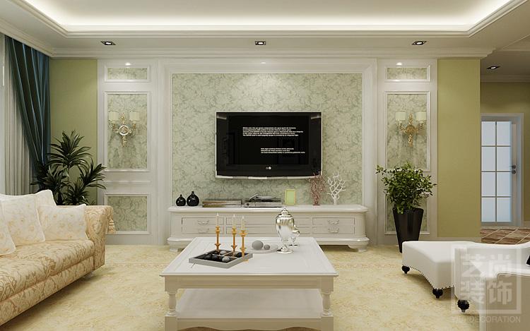 客厅电视背景墙装修效果图.