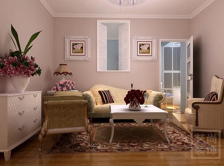 海上五月花90平方三室两厅现代简约样板间装修案例图片