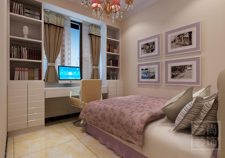 鑫苑鑫城120平方三室两厅现代简约装修效果图