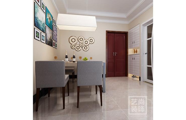 49平方兩室兩廳現代簡約樣板間裝修案例