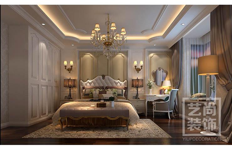 规划院家属院300平方复式简欧风格案例装修效果图