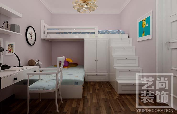 建业春天里89平方两室两厅装修效果图——奢华欧式