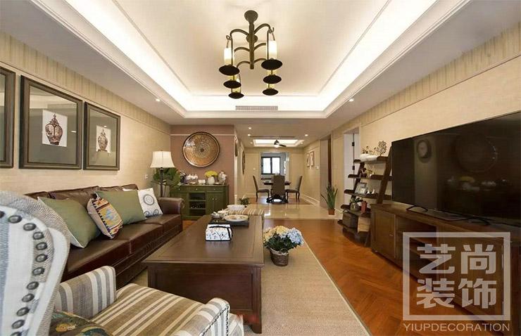 建业春天里142平方三室两厅两卫装修效果图