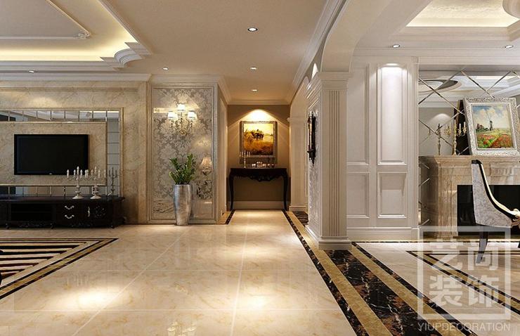 升龙城129平方三室两厅两卫装修效果图