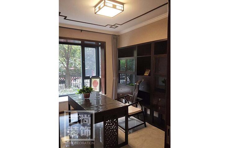 泰宏阳光和苑三室两厅两卫样板间装修案例