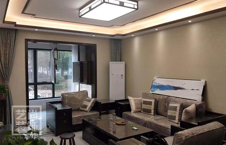 泰宏阳光和苑140平方三室两厅两卫装修效果图