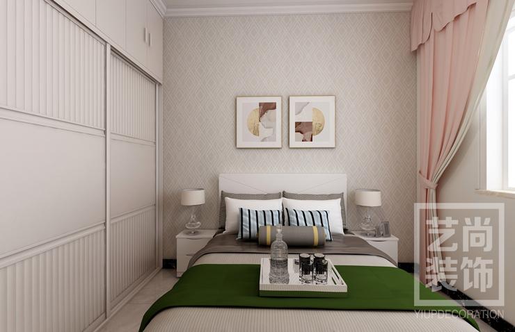 瀚宇天悦湾三室两厅两卫样板间装修案例