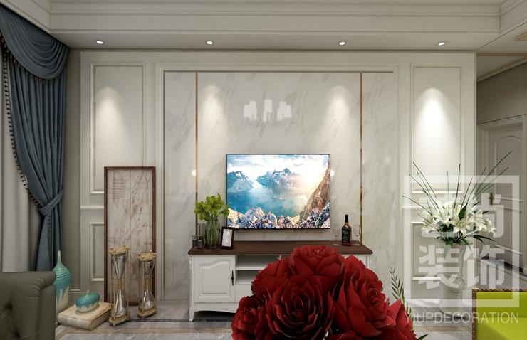 华瑞紫韵城168平方四室两厅两卫装修效果图