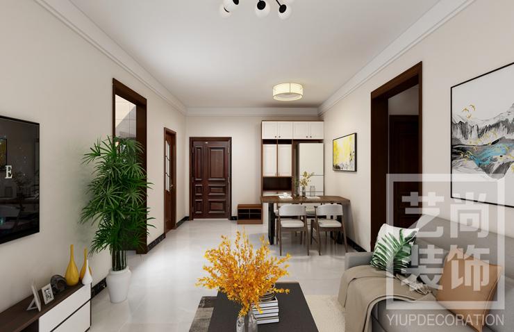 汇泉西悦城126平方三室两厅两卫雷火竞猜app效果图