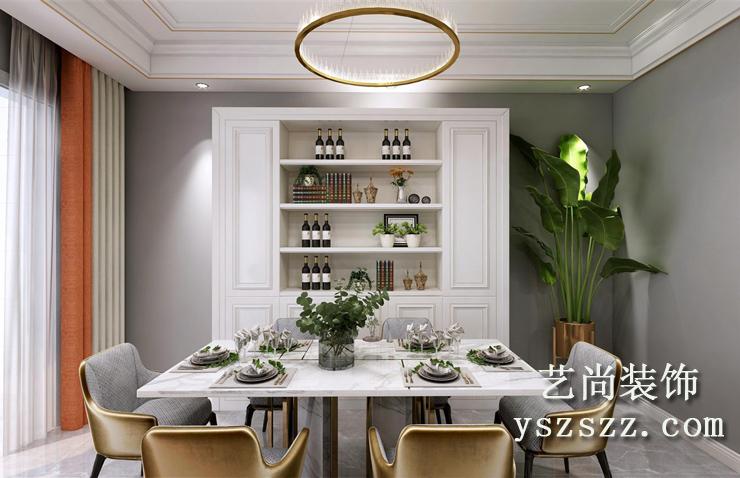 郑州五建新街坊121平方装修效果图