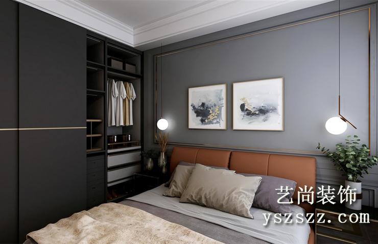 五建新街坊三室两厅两卫样板间装修案例