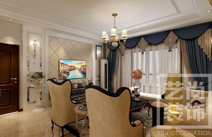 金科城142平方四室两厅两卫装修效果图