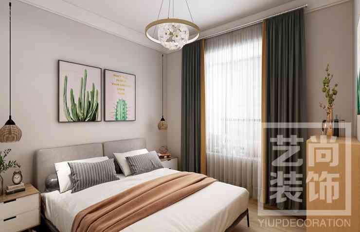 绿都澜湾107平方三室两厅两卫户型图